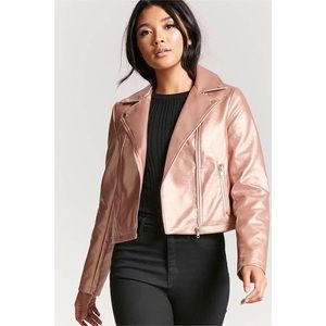 Forever 21 Dusty Pink Jacket